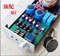 DIY AMP mit Messing transformator und ALPS Potentiometer TT650 beziehen Lehmann amp schaltung verstärker OPA2134PA AMP verstärker