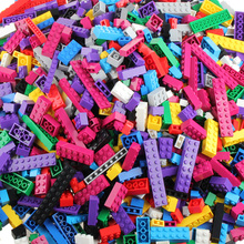 New Rainbow 500 pcs Colorful Building Blocks Toy Bricks DIY Assembling Early Educational Learning Classic Toys Kids Gift