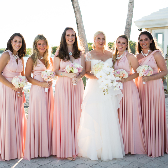 Aliexpress.com : Buy 2016 Summer Sexy Blush Pink Multiway ...
