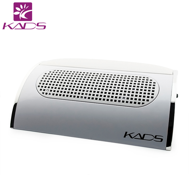 KADS 110V 220V Nail Dust Collector Nail Art Dust Suction Collector With Hand Rest Design For