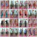 discount  wholesales 100pieces/lot cloth(dress) Fashion Clothes Suit For 1/6 BJD doll