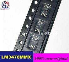 Новый оригинальный 5 шт./лот LM3478MMX/NOPB LM3478MMX LM3478MM LM3478 MSOP8