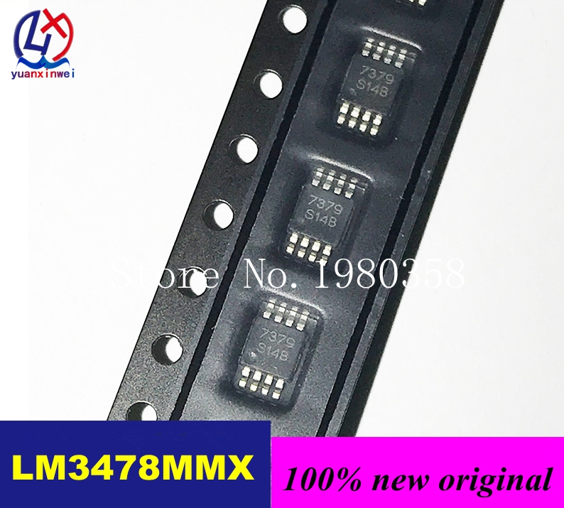 New Original 5pcs/lot LM3478MMX/NOPB LM3478MMX LM3478MM LM3478 MSOP8