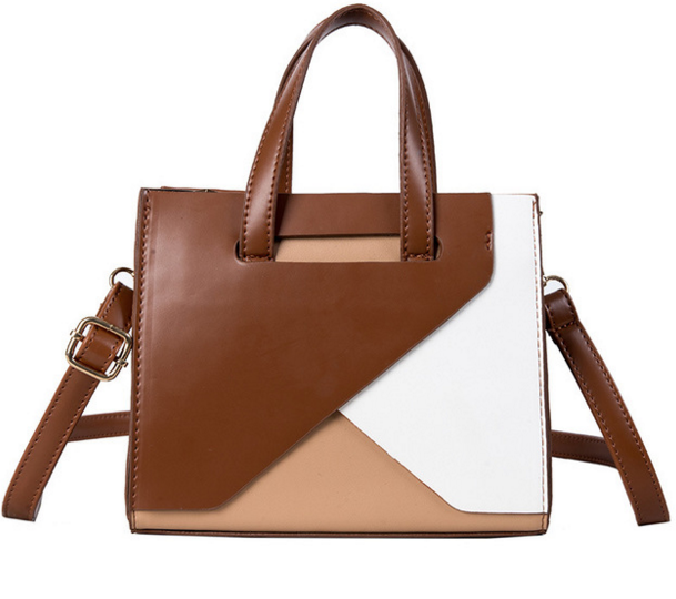 Crossbody-Bags Women Totes Color-Bending Elegant Fashion Ladies Flap for D021 Retro Female