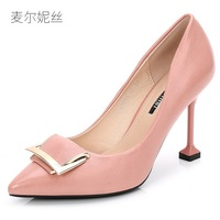 2018 The New Fashion 9 5cm Pink Sexy High Heels For Women S Pumps With Shoes