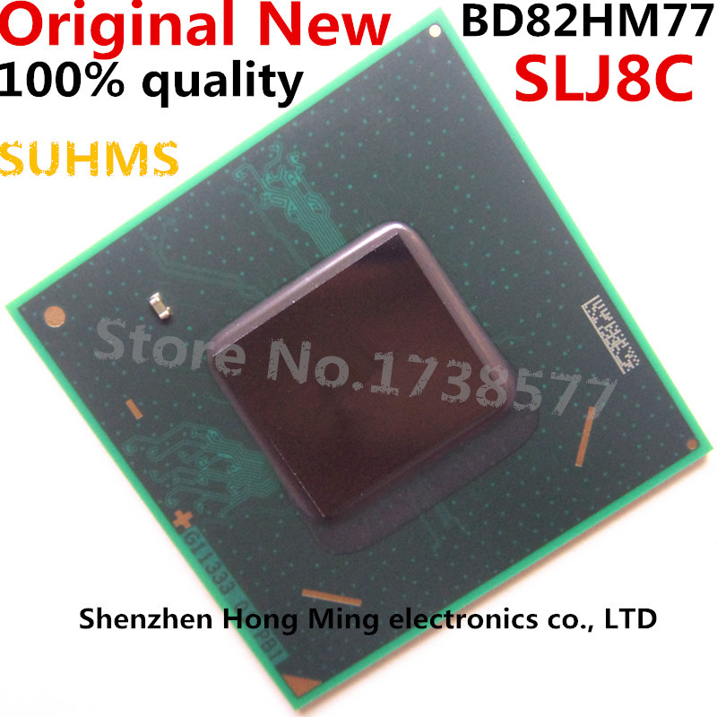 100% Original SLJ8C BD82HM77 BGA Chipset-in Integrated Circuits from Electronic Components & Supplies