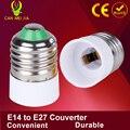 1pcs Led Lamp Holder Bulb Socket E14 To E27 Adapter E14 E27 Converter Adapter E14 To E27 Light