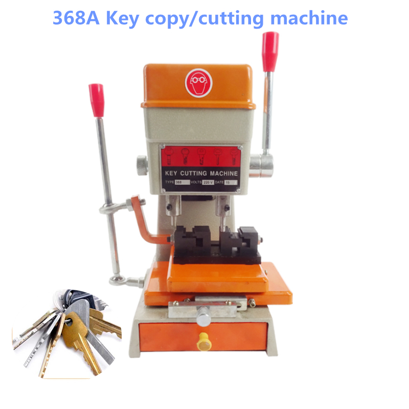 220V/110V 368A Key Cutting/Copy Machine 200W Key Duplicating Machine with Full Set Cutters Locksmith Tools defu 368a car key cutting copy duplicating machine with full set cutters for making keys locksmith tools parts