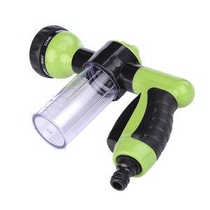 Image 4 - Neue Auto Waschen Schaum Grün Wasser Pistole Auto Washer Tragbare Durable Hochdruck Für Auto Waschen Düse Spray Kostenloser Versand