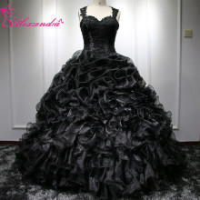 Alexzendra Applique Beads Ball Gown Quinceanera Dresses