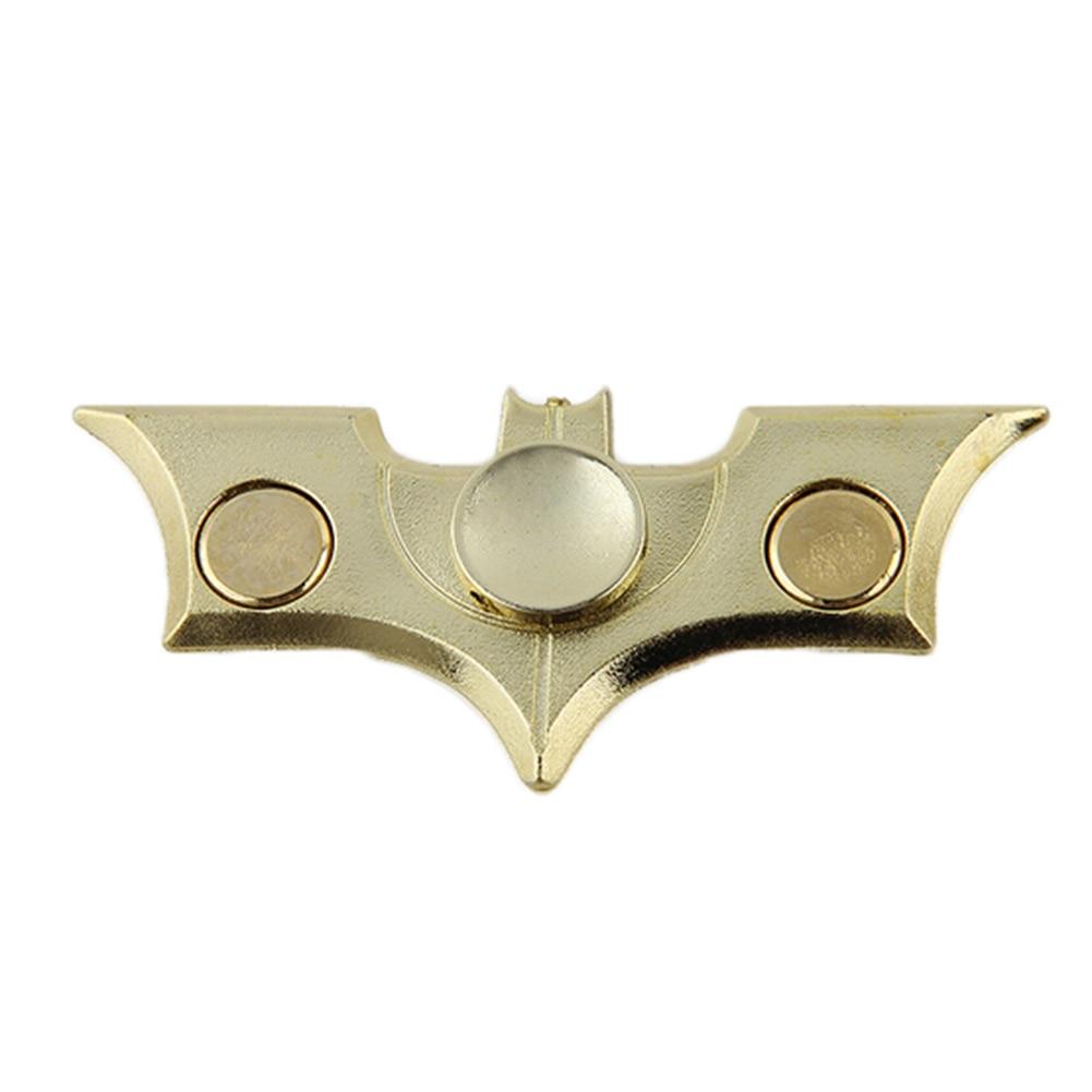 New Hand Spinner Fidget Stress Cube Bat Shape Fidget Spinner Plastic EDC Tri Spinner Fidget font