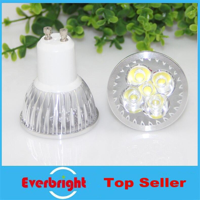 10x GU10 4x3 Вт 12 Вт 5x3 Вт 15 Вт LED Лампочки затемнения теплый/белый 85-265 В супер яркий GU10 LED лампа Светодиодный прожектор ...