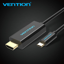 Vention Type-C to HDMI Cable Adapter Switcher Cable Male to Male Oudio & Video for Computer Cellphone TV  Projector Monitor