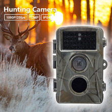 Big sale Scouting Camera 0.2S Trigger Time IR LED HD 1080P Digital Infrared Hunting Waterproof Trail Camera 12MP Night Vision Cam
