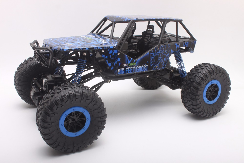 RC Car 2.4GHz Rock Crawler Rally Car 4WD Truck 1:10 Scale Off-road Race Vehicle Buggy Electronic RC Model Toy HB-P1002 цена