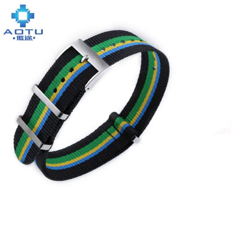 20mm hommes toile bracelets de montre pour Tissot T095 10 couleurs Bracelet de montre pour homme Nylon Bracelet de montre pour T095 Bracelet ceinture Bracelet de montre
