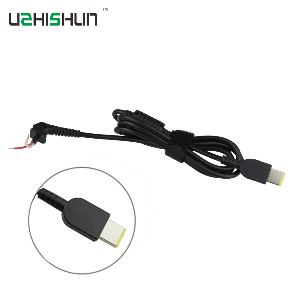 все цены на 2PCS   DC Connector Cord laptop power Cable For Lenovo IdeaPad Yoga Square Connector Charger Laptop adapter pc cable notebook онлайн