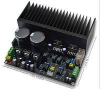 LM3886 Placa Amplificador Estéreo de Alta Potência Kit OP07 servo DC 5534 Com Radiador Amplificador     -