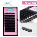 All Size 1 Case J B C D Curl Mink Eyelash Extension Individual Fake False Eye Lash Tray Professional Salon Lasher Use