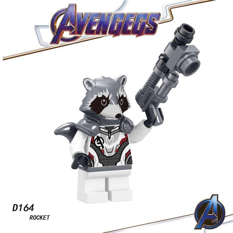 Legoed アベンジャーズ Endgame マーベルアイアンマン Thanos さん無限大ガントレットアクションフィギュアプレイモービルビルディングブロックモデルの子供のおもちゃ