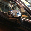 Car rear view mirror cover, side mirror cap for  Outback 2015,ABS chrome,2pc/lot,free shipping