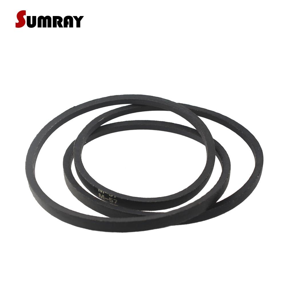 SUMRAY V Belt M Type Rubber Belts Transmission M50/51/52/53/54/55/56/57/58/59/60 Drive V Belt for Sewing Machine цена и фото