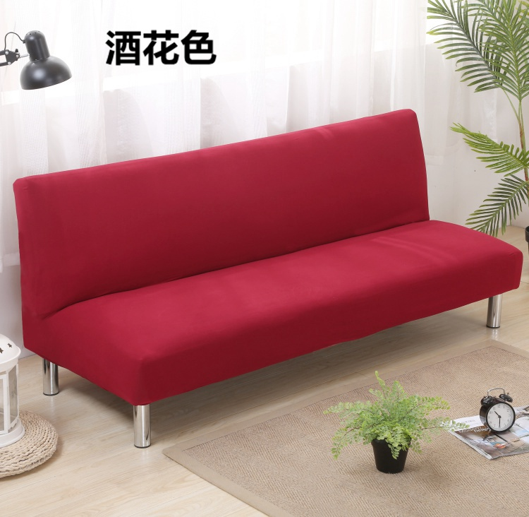 US $17.63 17% OFF|Solid red/grey/blue Color Sofa Cover Big Elasticity  Stretch folding Couch Cover Loveseat Sofa Corner Sofa Towel Furniture  Cover-in ...