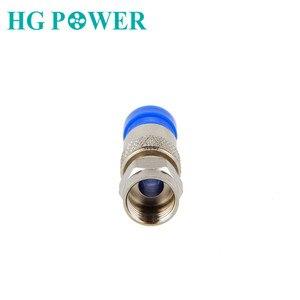 Image 2 - Водонепроницаемый RG6 Соединитель Инструмент сжатия коаксиальный кабель подключения F Тип