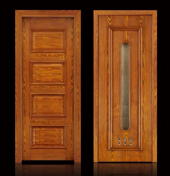 Online buy wholesale modern wooden door designs from china for Modern wooden door design