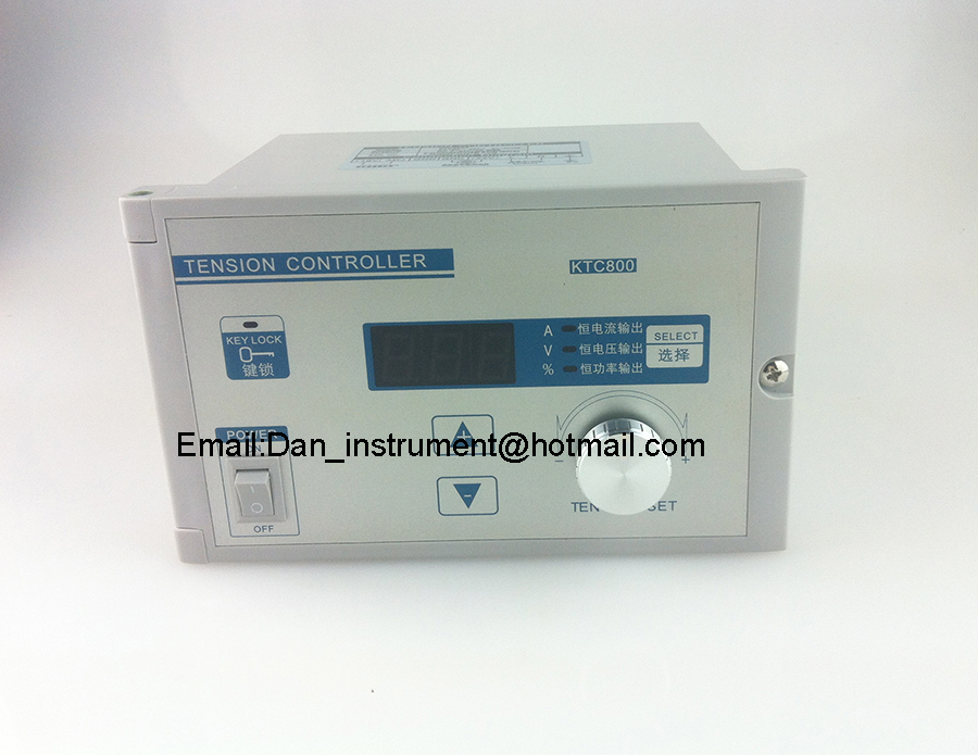 KTC800A Manual Tension Controller with Three operate modes Constant current, constant voltage and constant power wholesale kdt b 600 digital automatic constant tension controller for printing and textile