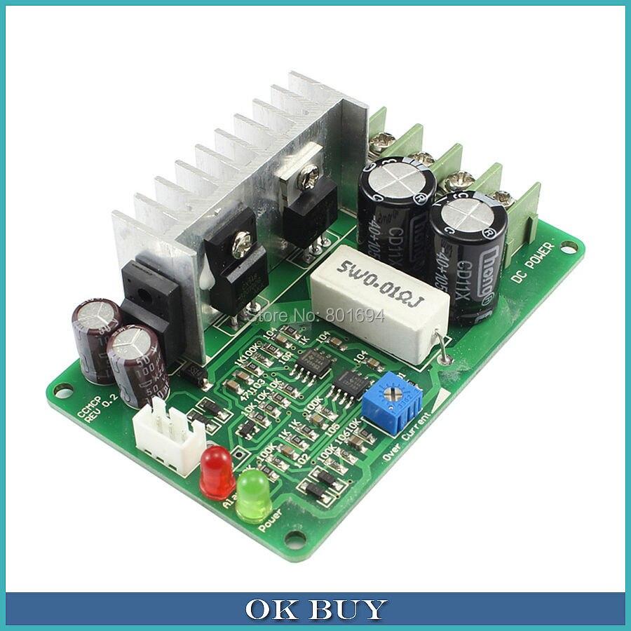 цена на PWM DC Motor Governor Speed Regulator 15A 10-40V 12V 24V 36V Over-Current Load Protection Controller Board