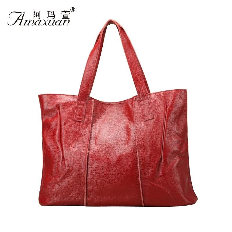 100% Genuine Leather Bag New Women leather Handbags Famous Brand women messenger Bags Ladies Shoulder Bag Bolsos 2015 BH778