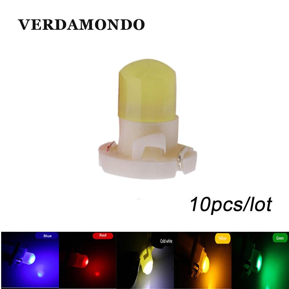 10 шт., светодиодсветильник лампы T4.2 COB для приборной панели