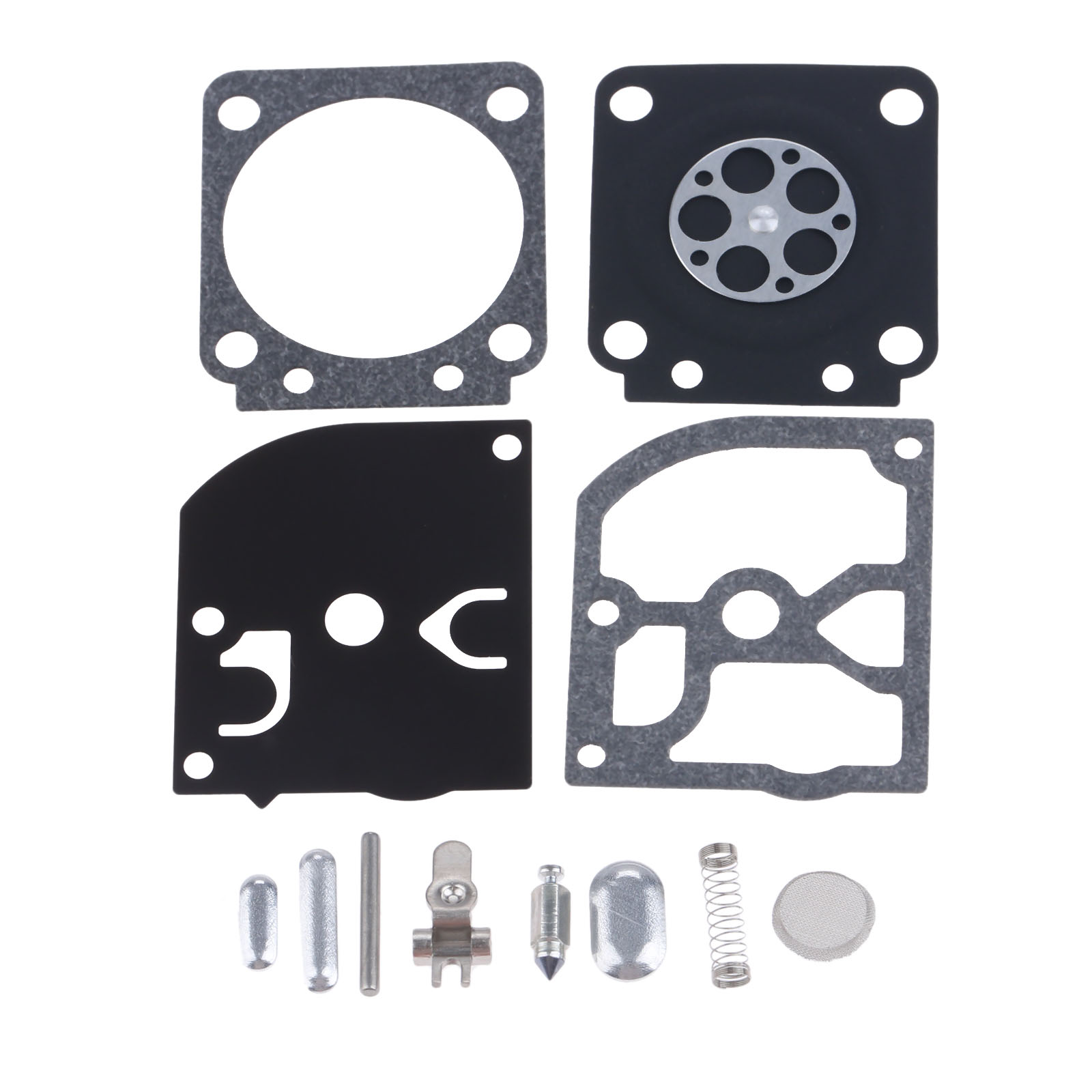 DRELD RB-66 Carburetor Rebuild Repair Kit For Zama RB-66 STIHL 017 MS170 018 MS180 FS75 FS80 FS85