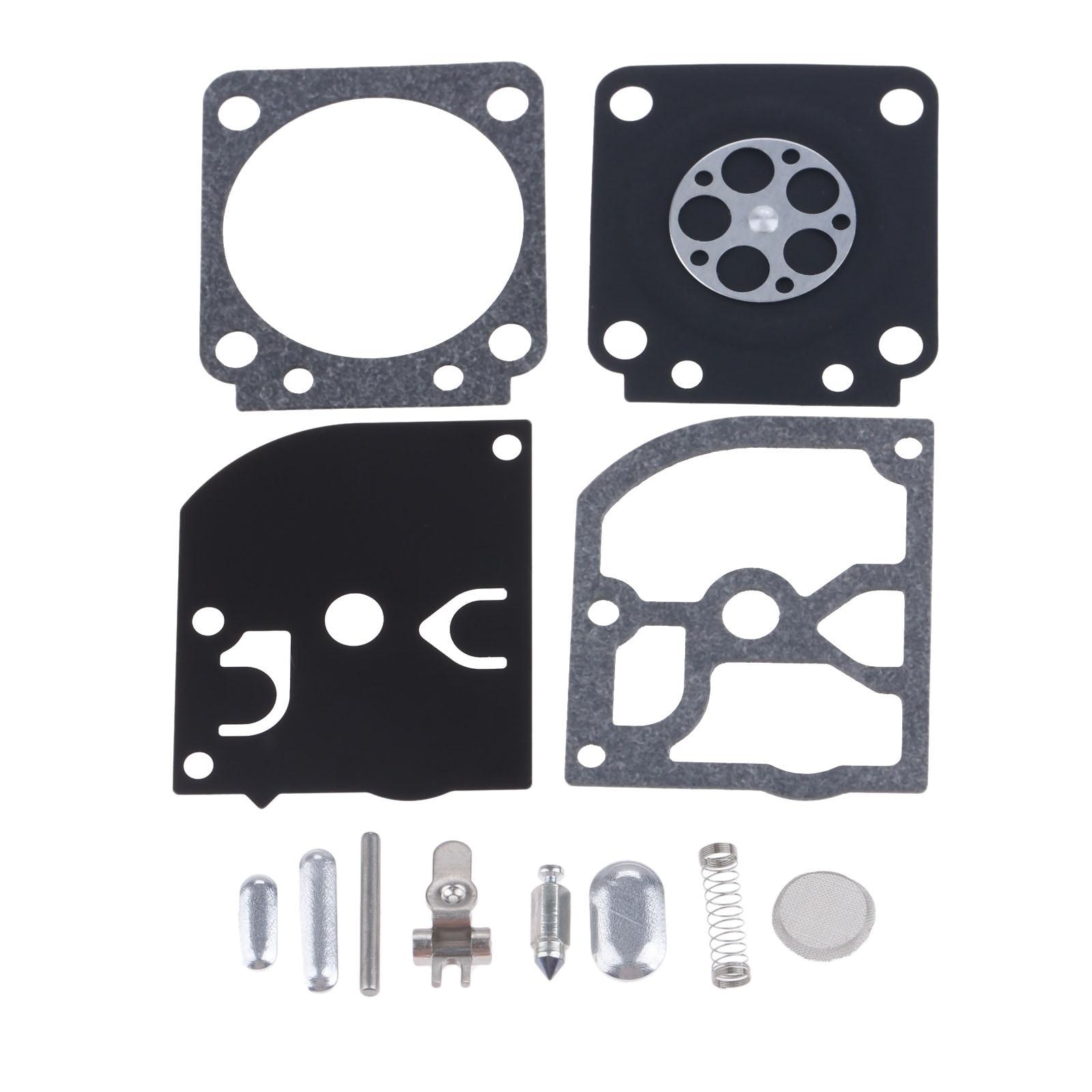 DRELD RB-66 Carburetor Rebuild Repair Kit For Zama RB-66 STIHL 017 MS170 018 MS180 FS75 FS80 FS85