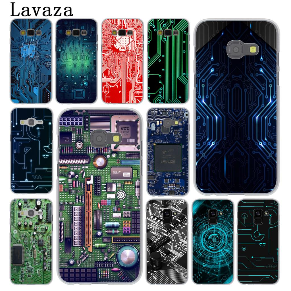 Lavaza Technology Circuit board <font><b>Motherboard</b></font> Case for <font><b>Samsung</b></font> <font><b>Galaxy</b></font> <font><b>Note</b></font> 10 9 <font><b>8</b></font> A9 A8 A7 A6 Plus 2018 A3 A5 2017 2016 2015 A2 image