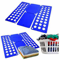 Quality Adult Magic Clothes Folder T Shirts Jumpers Organiser Fold Save Time Quick Clothes Folding Board Clothes Holder 3 Size