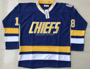 Ice Hockey Jersey All stitched Hockey Jerseys Mad Brothers Hanson  Charlestown Chiefs e6be37194