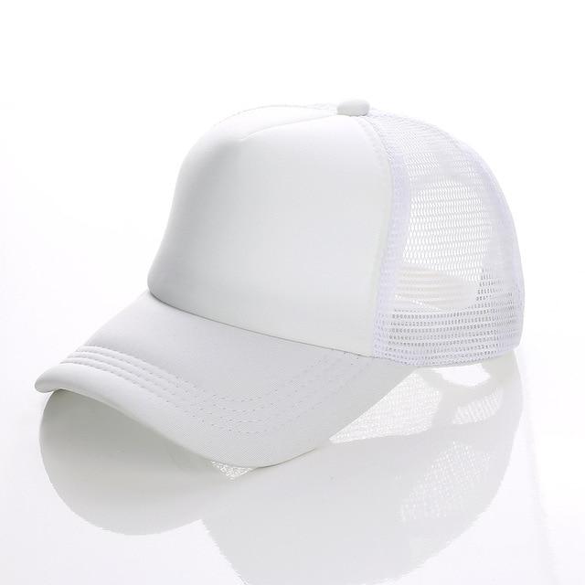 white white white Baseball net 5c64f225d8786