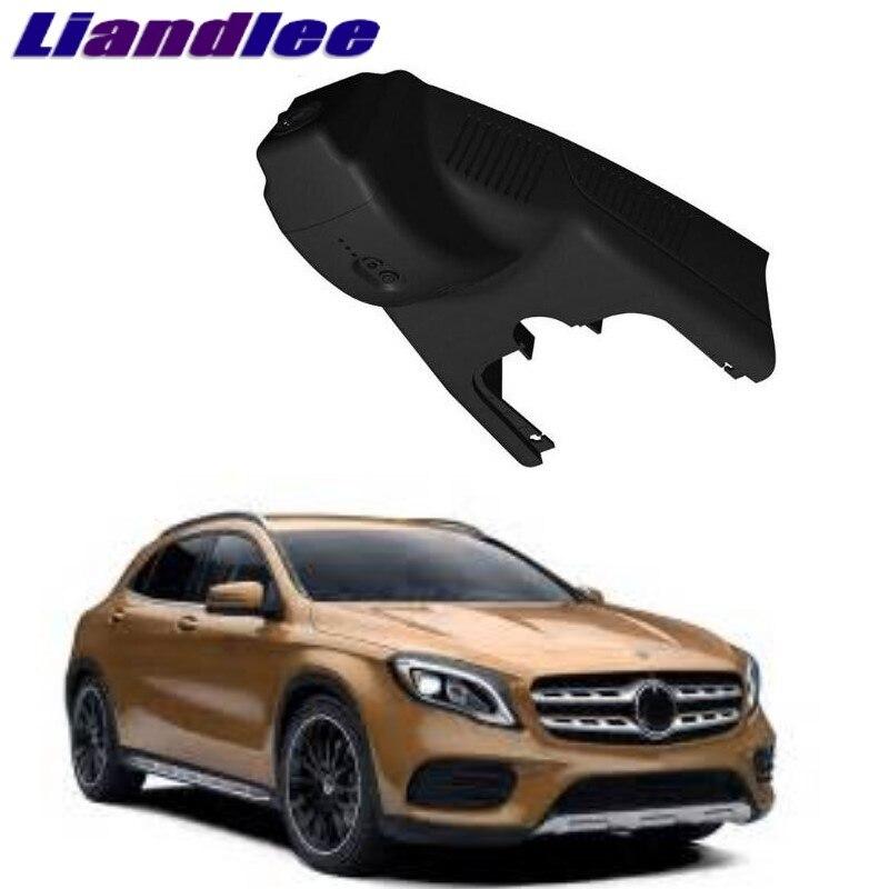 GLA Liandlee Para Mercedes Benz MB X156 2014 ~ Onwork Registro Wi-fi DVR Traço Estrada Câmera Condução Do Carro Gravador de Vídeo