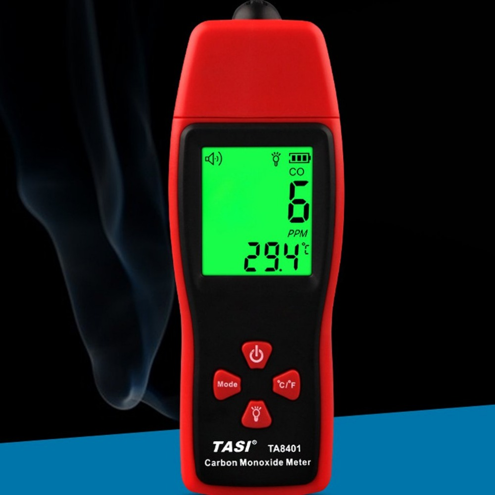 TA8401 Handheld Carbon Monoxide Meter CO Gas Detector Gas Analyzer High Precision detector CO gas Monitor tester CO sensorTA8401 Handheld Carbon Monoxide Meter CO Gas Detector Gas Analyzer High Precision detector CO gas Monitor tester CO sensor