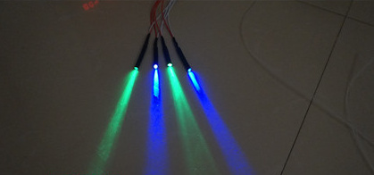 Fast Free Ship 5pcs/lot 12V LED Little Light Source 1.5mm 2.0mm 3.0mm Perfect Optical Fiber Special Light Source