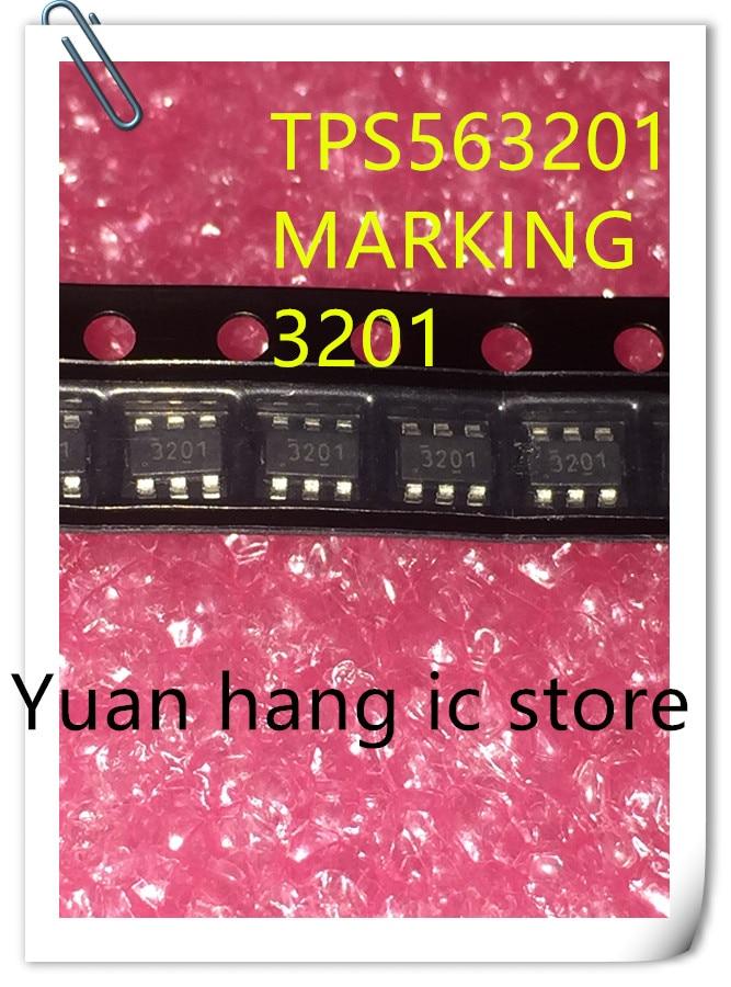 10pcs/lot TPS563201DDCR TPS563201 563201MARKING 3201 SOT23-6 NEW Original And STOCK