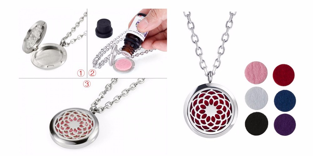 Essential Oil Locket 01