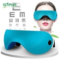 Wireless 3D Green Light Eye instrument Restore vision training Eye massager Blurred vision dry eyes Myopia Treatment TENS EMS