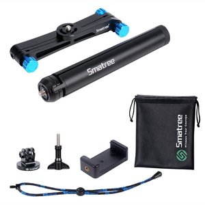 Image 5 - Smatree X1S Foldable Pole/Monopod for GoPro Hero 8/7/6/5/4/3+/3/Session,Ricoh Theta S/V,for DJI OSMO Action Cameras,Cell Phones