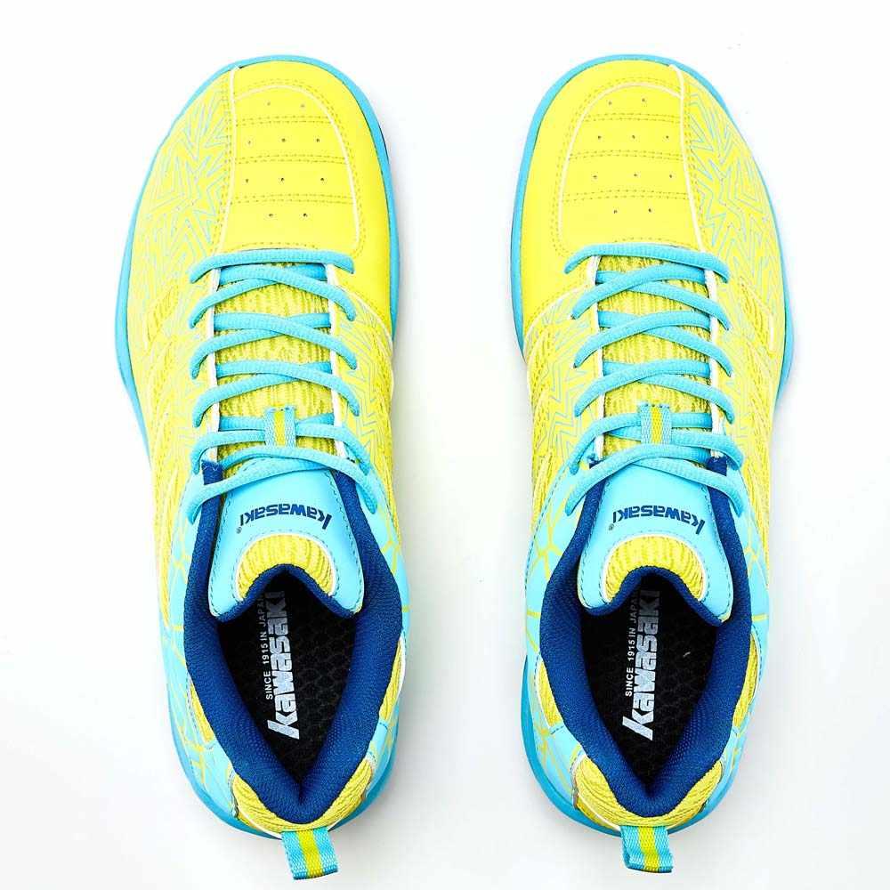 2019 Kawasaki Sport Mann Turnschuhe Badminton Schuhe Zapatillas Gummi Anti-Rutschig Indoor Gericht Sport Schuh für Männer Frauen K-075