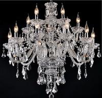 Новые роскошные Люстры K9 хрустальная люстра большой 15 руки кристалл Люстры Гостиная современный большой роскошный люстра
