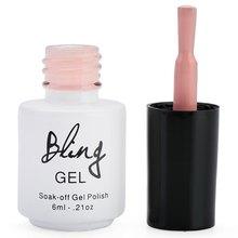 2016 Mujeres De Moda Bling Dulce Niña Encantadora de Color Manicura Soak-off de Larga Duración laca Pegamento de Uñas Esmalte de Uñas del dedo tinta