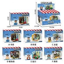 XINGBAO 01401 оригинальные строительные серии набор образовательных строительных блоков подвижная фигурка-модель игрушки детские подарки